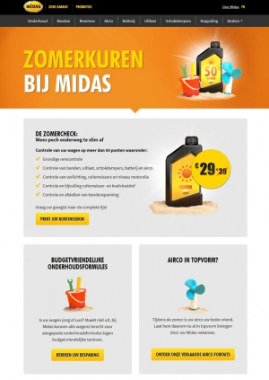 <h5>Midas summer deals</h5><p>client : Luon + Midas</p>