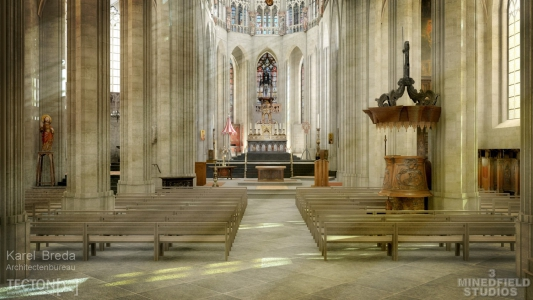 <h5>Halle Cathedral</h5><p>client : Architectuurbureau Karel Breda and tecton.be																																																																																																																																																																																																																																																																																</p>