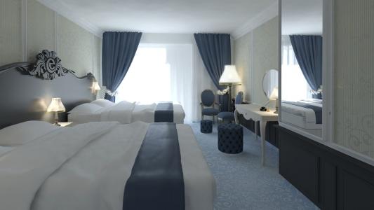<h5>Efteling hotelroom</h5><p>client : creneau int.</p>